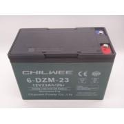 Acumulator Gel 12V 23Ah 6 DZM 23 / 2hr Chilwee pentru bicicleta electrica