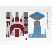 "Lego Original Sticker Sheet For Set #75012 ""Barc Speeder With Sidecar"""