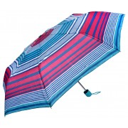 Blooming Brollies Umbrelă pliabilă pentru femei Perletti Basics Collection 12258 Light Blue