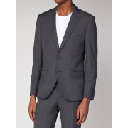 Ben Sherman Main Line Grey Puppytooth Suit Jacket 36R Grey