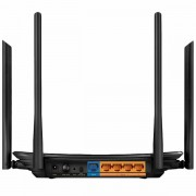 AC1200 Dual-Band Wi-Fi Router, 867Mbps at 5GHz + 300Mbps at 2.4GHz, 5 Gigabit Ports, 4 antennas, Beamforming, MU-MIMO, IPTV, Access Point Mode, VPN Server, IPv6 Ready, Tether App ARCHER-C6
