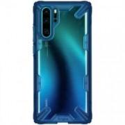 Husa Huawei P30 Pro - Ringke Fusion-X Albastru