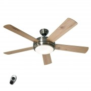 Titanium BN - illuminated ceiling fan