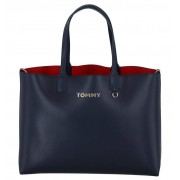 Tommy Hilfiger Donkerblauwe Shopper Tommy Hilfiger Iconic Tommy Tote