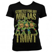 TMNT - Strictly For My Ninjas Girly T-Shirt