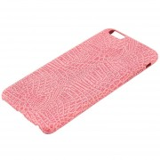ER Funda Ultra Slim De Cuero PU Suave Para IPhone 6Plus/6sPlus-pink