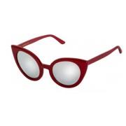 Spektre Vendetta Sunglasses VD03B/Red (Silver Mirror)