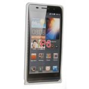 Силиконов гръб ТПУ за Huawei Ascend P6 Бял