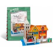 Puzzle 3D CubicFun CBFB Debarcader Italia