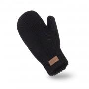Rękawiczki damskie PaMaMi - Czarny