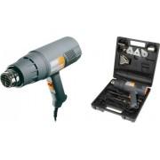 Pistol aer cald Regulator 2000 W 500l min 60 600 C Kit cu raclete vopsea si 4 capete