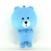 Squishy Antistress Ursulet Teddy Parfumat cu Revenire Lenta (Albastru)