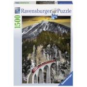 Puzzle Canion Iarna, 1500 Piese Ravensburger