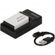 2-Power Laddare & Digitalkamera Batteri Kit Canon (LP-E17)