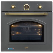 Cuptor incorporabil rustic Beko OIM27201A, Multifunctional, 71 L, 8 Functii, Clasa A, 3D cooking, Grill, Antracit