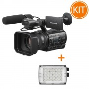 Kit Video Profesional Camera Video Sony HXR-NX200 si Lampa Manfrotto Croma 2