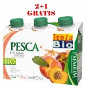 Bautura bio premium de piersici 3x200ml