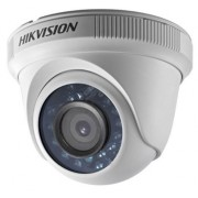 Camera supraveghere video Hikvision DS-2CE56D0T-IRF-28, Turbo HD Dome, 2MP, 1080P@25fps, CMOS, 2.8mm (Alb)