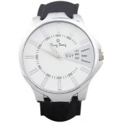 Ding Dong Analogue Day & Date White Dial Men's Watch-Max White-06