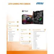 MSI Z270 GAMING PRO CARBON s1151 4DDR4 2M.2/2USB3.1 - DARMOWA DOSTAWA!!!