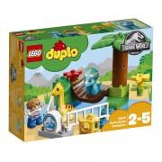LEGO DUPLO - Jurassic World, Gradina Zoo a uriasilor blanzi 10879