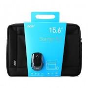 Kit geanta + mouse optic, Acer Notebook Starter Kit, 15.6, poliester, negru