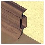 PBC505 - Plinta PROLUX din PVC culoare wenge pentru parchet 50 mm