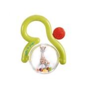Jucarie zornaitoare Fraisy Girafa Sophie in cutie cadou