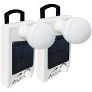 Sahu lite Model 04 Solar Bulb(Set of 2 ) Rechargeable Solar Light