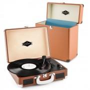Peggy Sue Set Record Collector Colore Marrone   Giradischi Retrò   Valigia Dischi