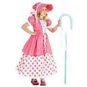 Princess Polka Dot Bo Peep Costume, Multicolor, X-Small (4)