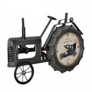 [en.casa]® Fali óra traktor 41 x 3,5 x 27 cm