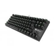 Natec Genesis Геймърска клавиатура Mechanical keyboard 87 keys THOR 300 TKL GREEN BACKLIGHT NKG-0945