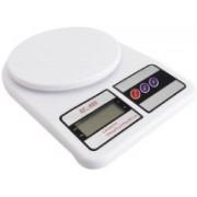 Virgo 10 kg x 1 gm Kitchen Multi-Purpose Weighing Scale(White)