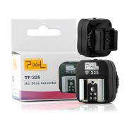 Pixel TF-325 Flitsschoen Adapter Converter PC Sync Socket voor Sony Alpha Minolta Konica als FS-1100 FS1100