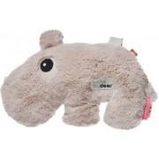 Done by deer Przytulanka z wypełnieniem z groszku Done by deer hipopotam