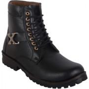 Woakers Stylish Men's Black X Boot
