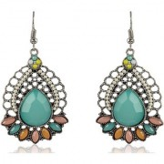 Sanaa Creations Non-Precious Metal Multicolor Dangle Drop Earrings For New Year Special offer Women and Girls