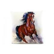 Polštářek 33 x 33 cm kůň
