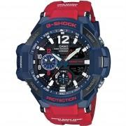 Casio G-SHOCK Standard Analog-Digital Montre GA-1100-2A - Bleu/ Rouge