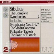 Video Delta Davis/Boston Symphony Orch. - Complete Symphonies Ii: 3 6 7/Violin Concerto - CD