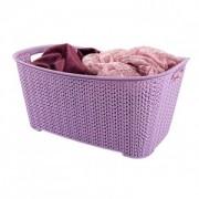 Cos depozitare 6 L 30x19.5x14.2 cm impletit knit
