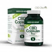 Medihemp CBD Olie Capsules 30 stuks 25 mg, 750 mg Raw