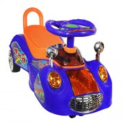 Adelee SUV Magic Swing Car for Kids (Blue)