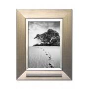 Zilverlook Fotolijst met RVS Asbuisje (0.025 liter)