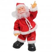 Пеещ и танцуващ Дядо Коледа - 31 см.