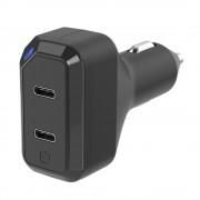 Incarcator auto dual StrikeDrive 3.0 18W USB-C