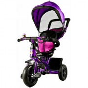 OH BABY Baybee Duster Tricycle with Cycle with Canopy (PURPLE) SE-TC-76
