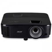 Видео проектор Acer Projector X1323WH, DLP, WXGA (1280x800), 20000:1, 3600 ANSI Lumens, HDMI, VGA, RCA, Speaker 3W, 3D Ready, Черен, MR.JPS11.001