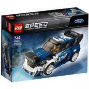Конструктор ЛЕГО СПИЙД ШАМПИОНИ - Ford Fiesta M-Sport WRC, LEGO Speed Champions, 75885